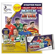 SPFL Match Attax 2018/19 Starter Pack