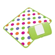 Koo-di Essential Baby Changing Box Green Polka