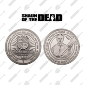 Shaun of the Dead Collectable Coin (Silver)