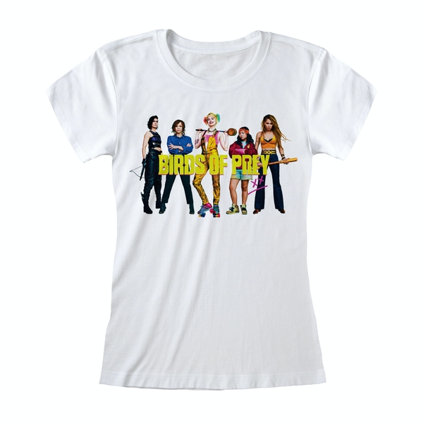 Birds Of Prey - Group Shot Women's Large T-Shirt - White