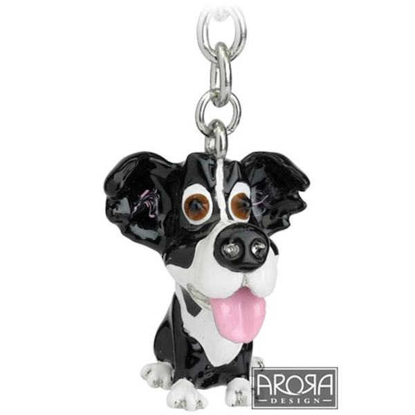 Little Paws Key Ring Border Collie