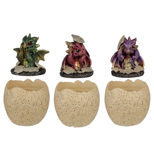 Hatching Elements Dragon Egg Trinket Box (1 Random Supplied)