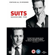 Suits - Season 1-5 DVD