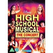 High School Musical The Concert Extreme Access Pass DVD