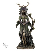 Lady Of The Forest Wiccan Figurine