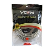 VCOM 2.0 A (M) to USB 2.0 A (F) with IC Power 10m Grey Retail Packaged Extension Data Cable