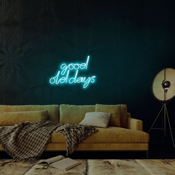 Good Old Days - Blue Blue Wall Lamp
