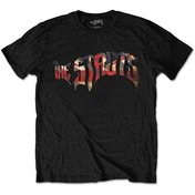 The Struts - Union Jack Logo Men's Medium T-Shirt - Black
