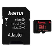 Hama microSDHC 32GB UHS Speed Class 3 UHS-I 80MB/s + Adapter/Photo