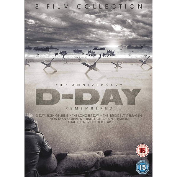 D-Day Remembered Boxset (8 Films) DVD