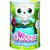 Owleez Interactive Flying Baby Owl - White