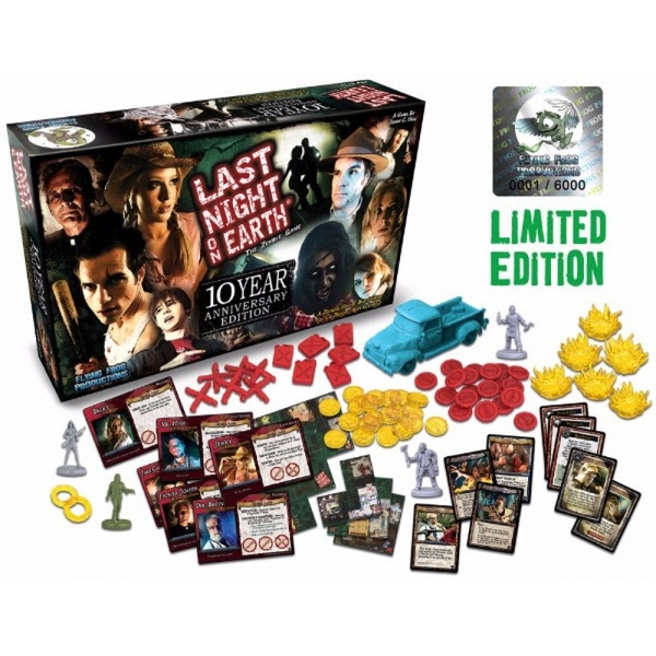 Last Night on Earth 10th Anniversary Edition Board Game