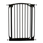 Dreambaby Auto-Close 1 Meter Tall Metal Safety Gate High (Black)