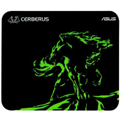 Asus CERBERUS MINI Gaming Mouse Pad, Black & Green, 250 x 210 x 2mm