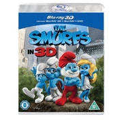The Smurfs In 3D Blu-Ray