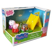Peppa Pig Camping Set With 2 Figures