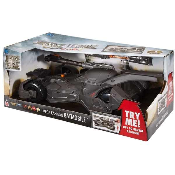 Justice League 900 Mega Cannon Batmobile Vehicle Toy