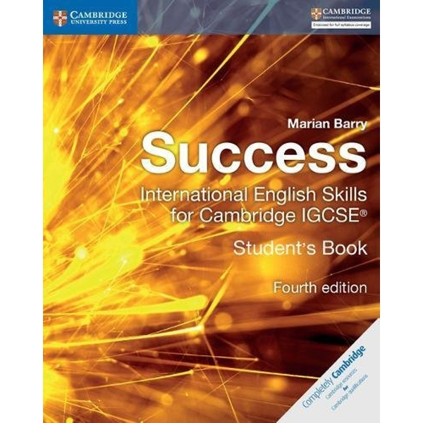 Success International English Skills for Cambridge IGCSE (R) Student's Book by Marian Barry (Paperback, 2017)