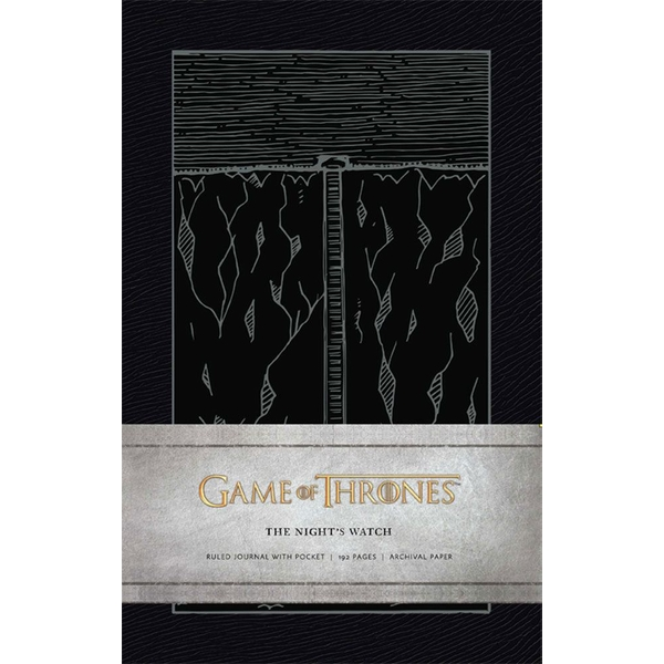 The Night's Watch (Game of Thrones) Hardcover Ruled Journal