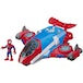 Playskool Heroes Marvel Super Hero Adventures Spider-man Jetquarters Action Figure - Image 2