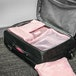 Suitcase Luggage Packing Cubes | Pukkr Pink - Image 2