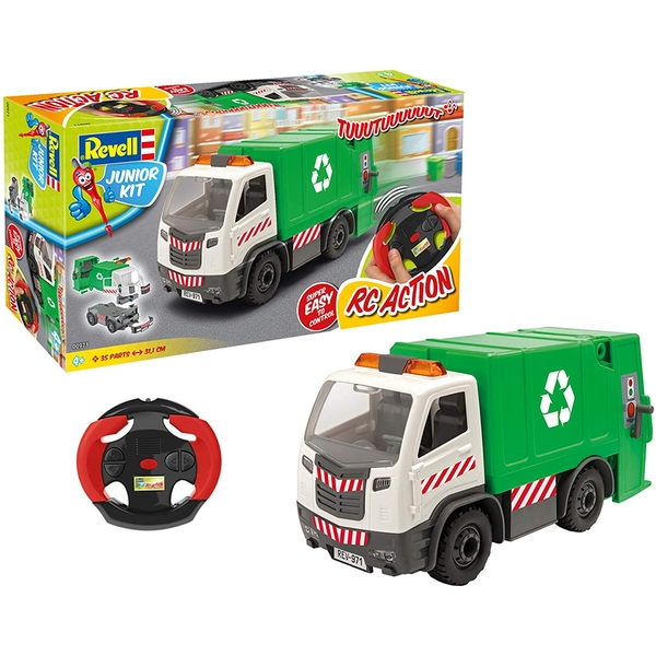 Garbage Truck Radio Controlled 1:20 Scale Revell Junior Kit