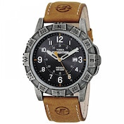 Timex T49991 Expedition Rugged Metal Watch with Black Colour Dial