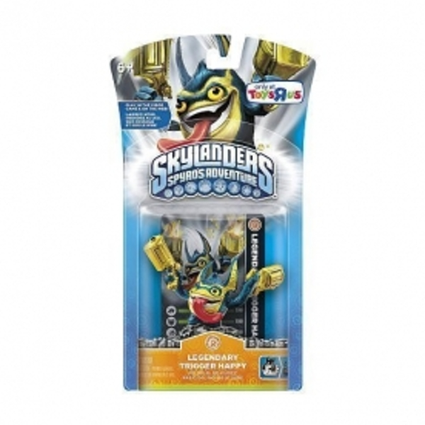Legendary Trigger Happy (Skylanders Spyro's Adventure) Tech Character Figure - Image 2