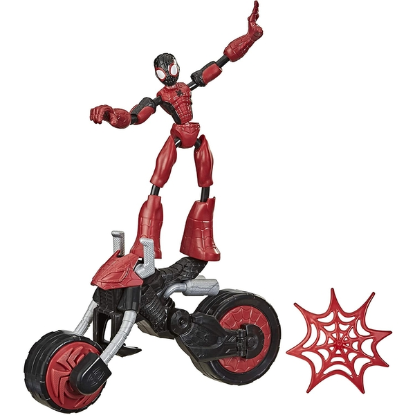 Spiderman Bend and Flex Rider Figure