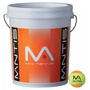 MANTIS Stage 2 Orange Tennis Balls Bucket 6 Dozen