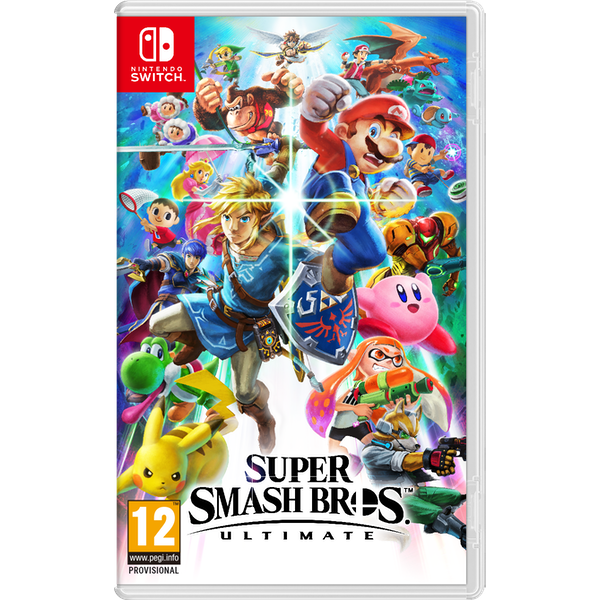 Super Smash Bros Ultimate Nintendo Switch Game - Image 1