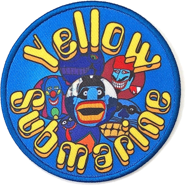 The Beatles - Yellow Submarine Baddies Circle Standard Patch