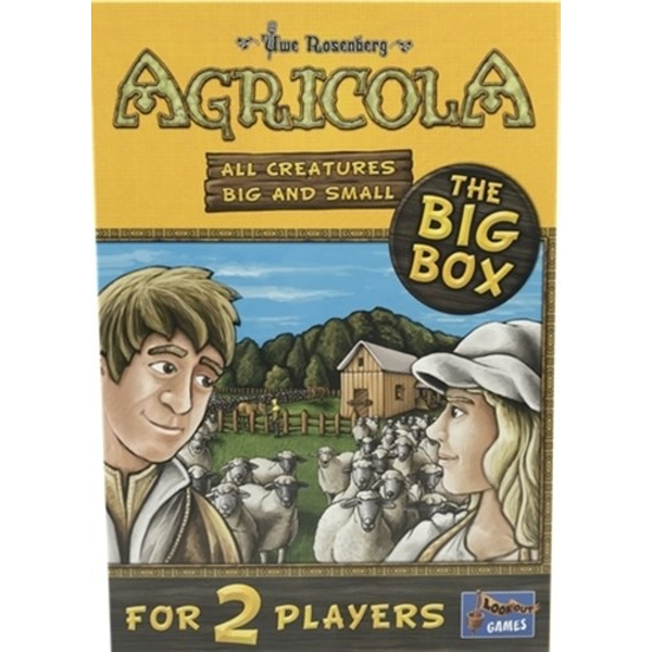 Agricola - All Creatures Big and Small (The Big Box) Board Game