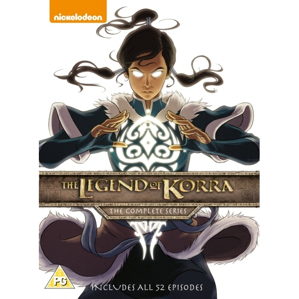 The Legend Of Korra: The Complete Series DVD