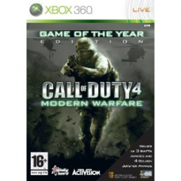 Call Of Duty 4 Modern Warfare Game Of The Year (GOTY) Game Xbox 360