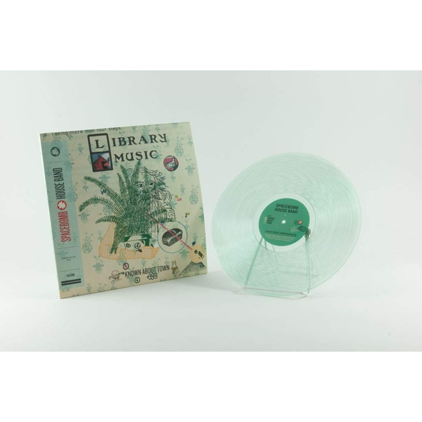 Spacebomb House Band - Known About Town: Library Music Compendium One Clear Rsd 2019 Vinyl