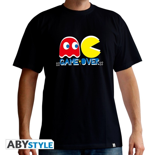 Pac-Man - Game Over Men's Small T-Shirt - Black