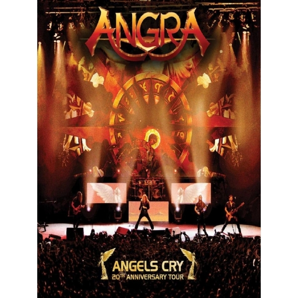 Angra Angels Cry 20th Anniversary Live DVD