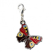 Peacock Butterfly Inachis Charm