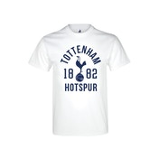 Spurs 1882 T Shirt Youths White 9-11 Years