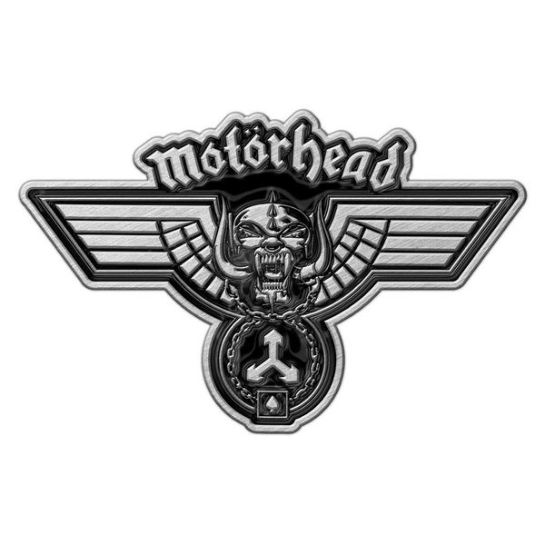 Motorhead - Hammered Pin Badge