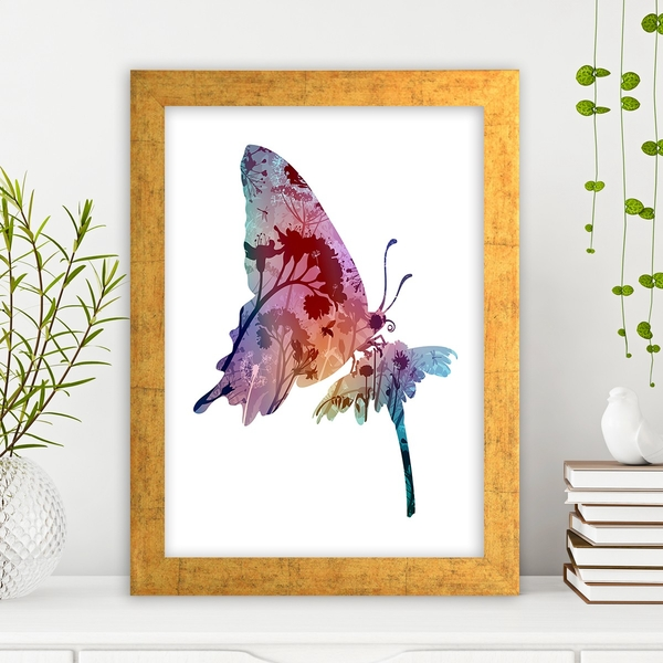 AC177777308 Multicolor Decorative Framed MDF Painting