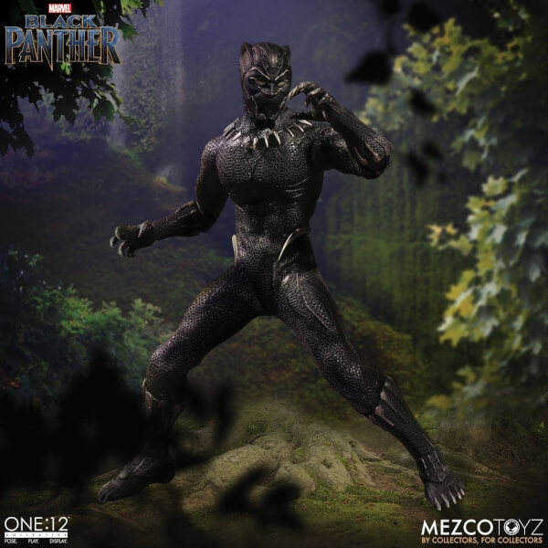 Black Panther (Black Panther Movie) One:12 Collective Action Figure