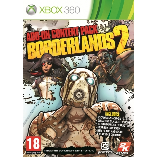 Borderlands 2 Add On Content Pack Game Xbox 360