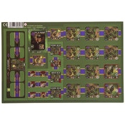 Heroes Of Normandie US Rangers Punch Board