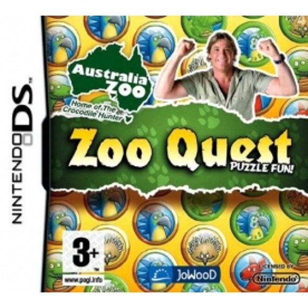 Zoo Quest Australia Zoo Game DS