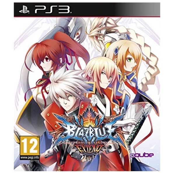 BlazBlue Chrono Phantasma Extend PS3 Game