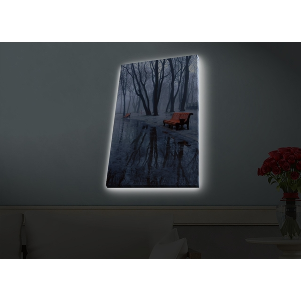 4570HDACT-077 Multicolor Decorative Led Lighted Canvas Painting