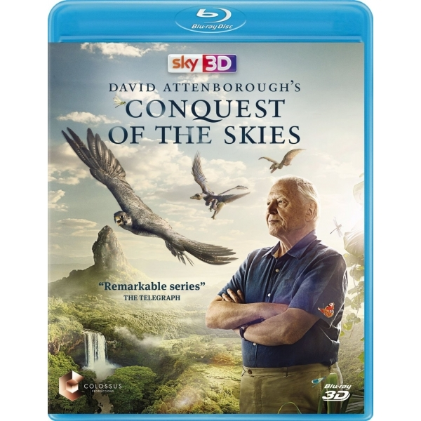 David Attenborough's Conquest of the Skies 3D Blu-ray