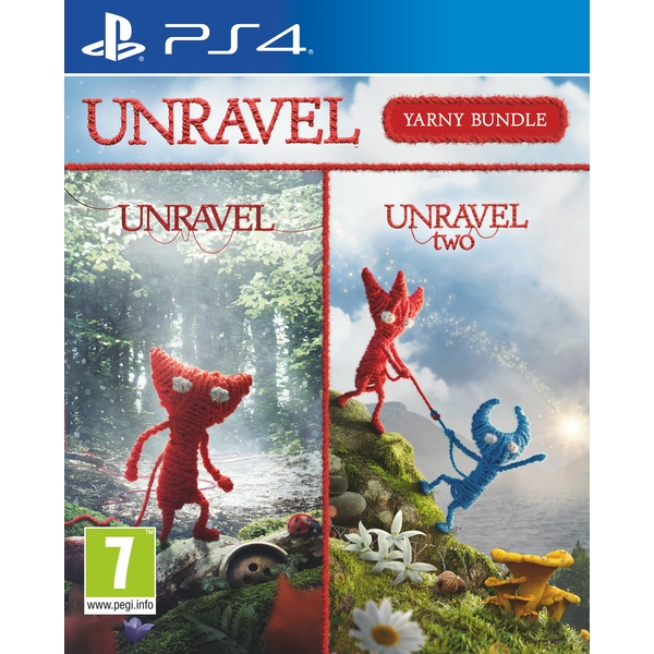 Unravel Yarney Bundle PS4 Game